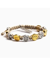 My Saint My Hero Blessing Bracelet in Mixed Metals (More Colors)