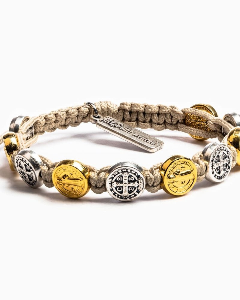 My Saint My Hero My Saint My Hero Mixed Metals Blessing Bracelet