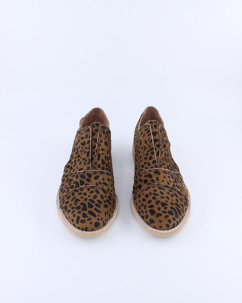All Black All Black Fur Cutout Cowman Shoe in Leopard (Size 37)