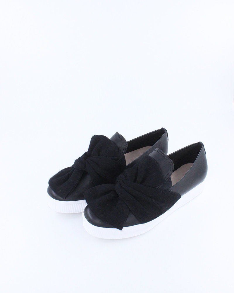 All Black All Black Bowtie Sneaker **FINAL SALE**
