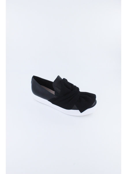 All Black Bowtie Sneaker **FINAL SALE**