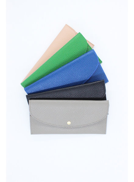'Diva' Pebbled Wallet (More Colors)