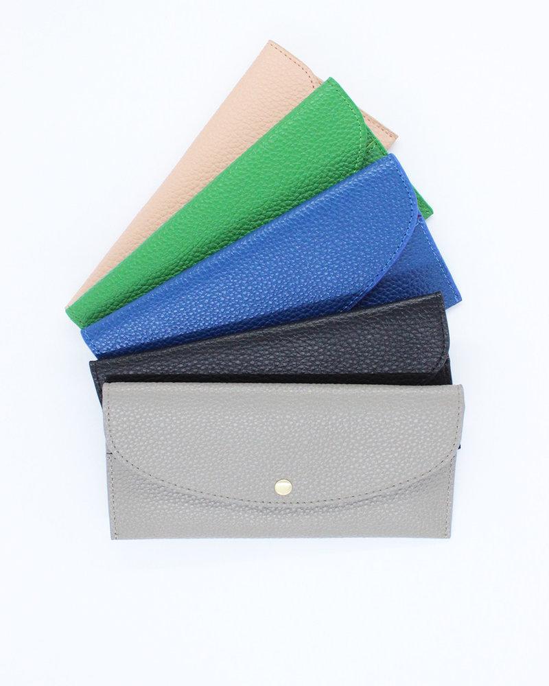 'Diva' Pebbled Wallet