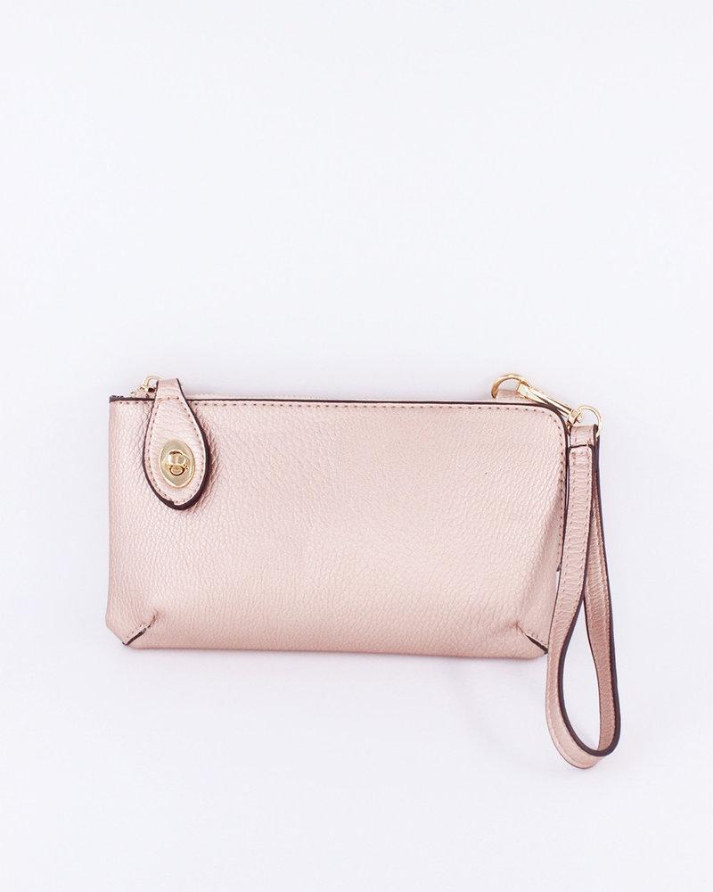 Jen & Co. 'Kendall' Snapper Convertible Crossbody Bag