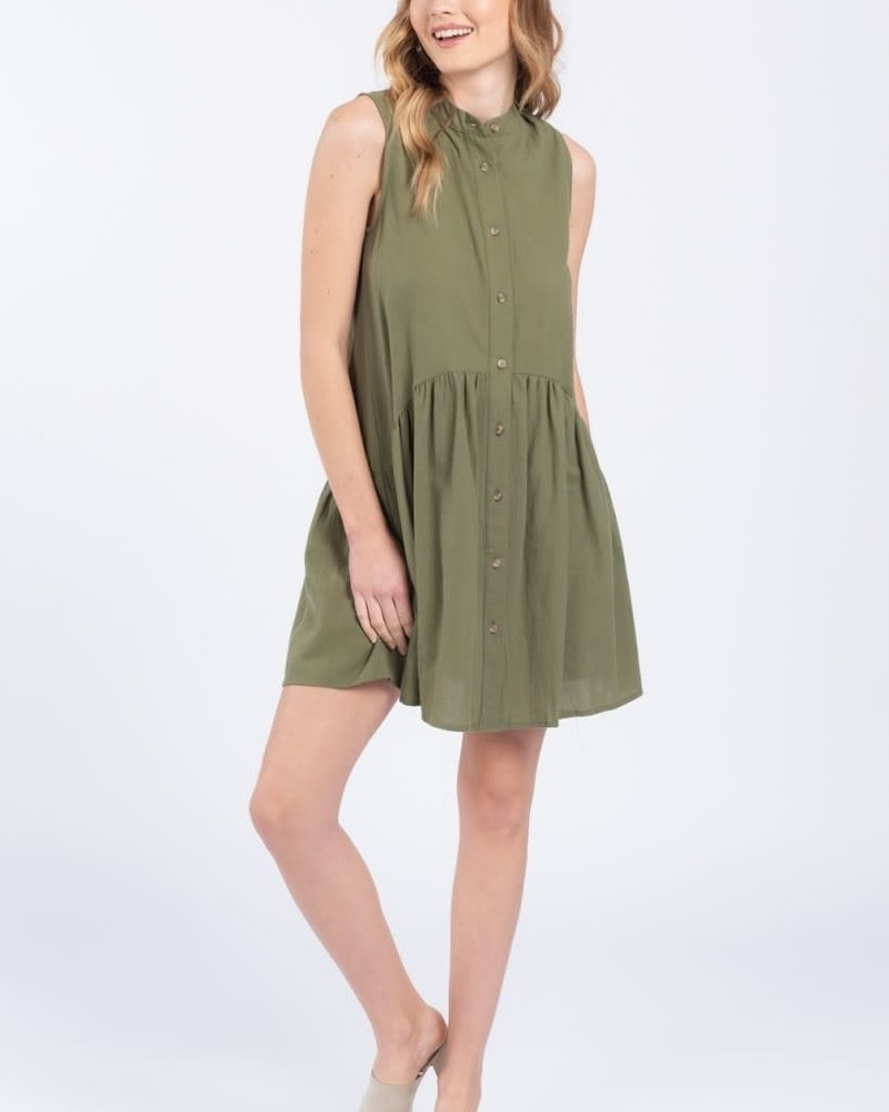 Everly 'Little Olive' Dress