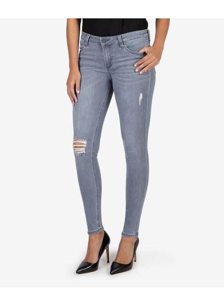 Kut from the Kloth 'Mia' Slim Fit Skinny Jeans in Perpetual
