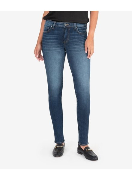Kut from the Kloth 'Diana Fab Ab' High Rise Skinny Jeans in Busy