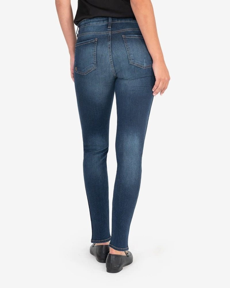 Kut from the Kloth Kut from the Kloth 'Diana Fab Ab' High Rise Skinny Jeans in Busy