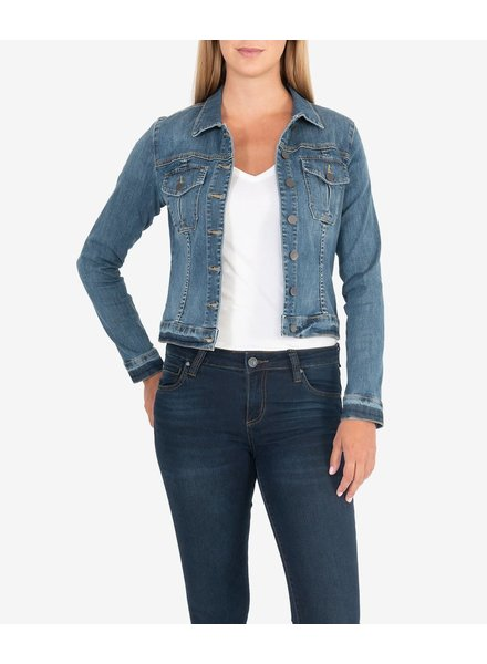 Kut from the Kloth 'Amelia' Denim Jacket in Universal