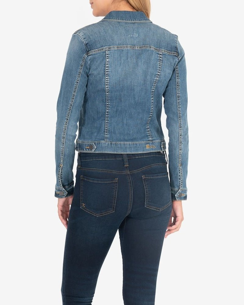 Kut from the Kloth Kut from the Kloth 'Amelia' Denim Jacket in Universal