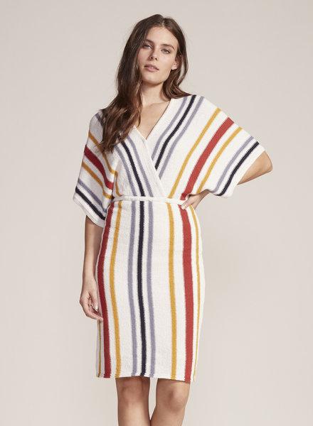 Cupcakes & Cashmere 'Frances' Striped Knit Dress