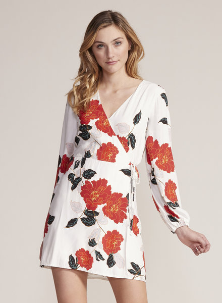 Cupcakes & Cashmere 'Athens' Floral Wrap Dress **FINAL SALE**