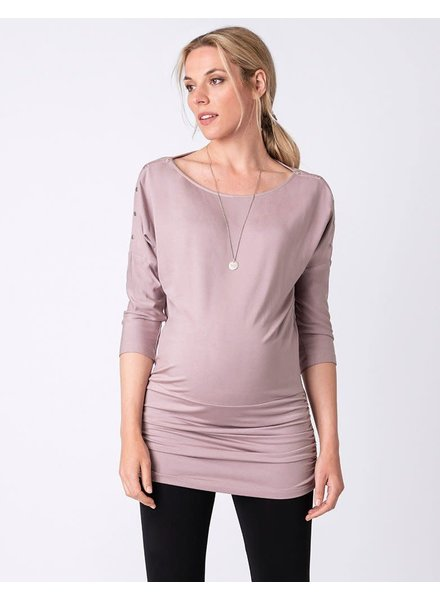 Seraphine Maternity 'Saskia' Poppers Maternity Nursing Top