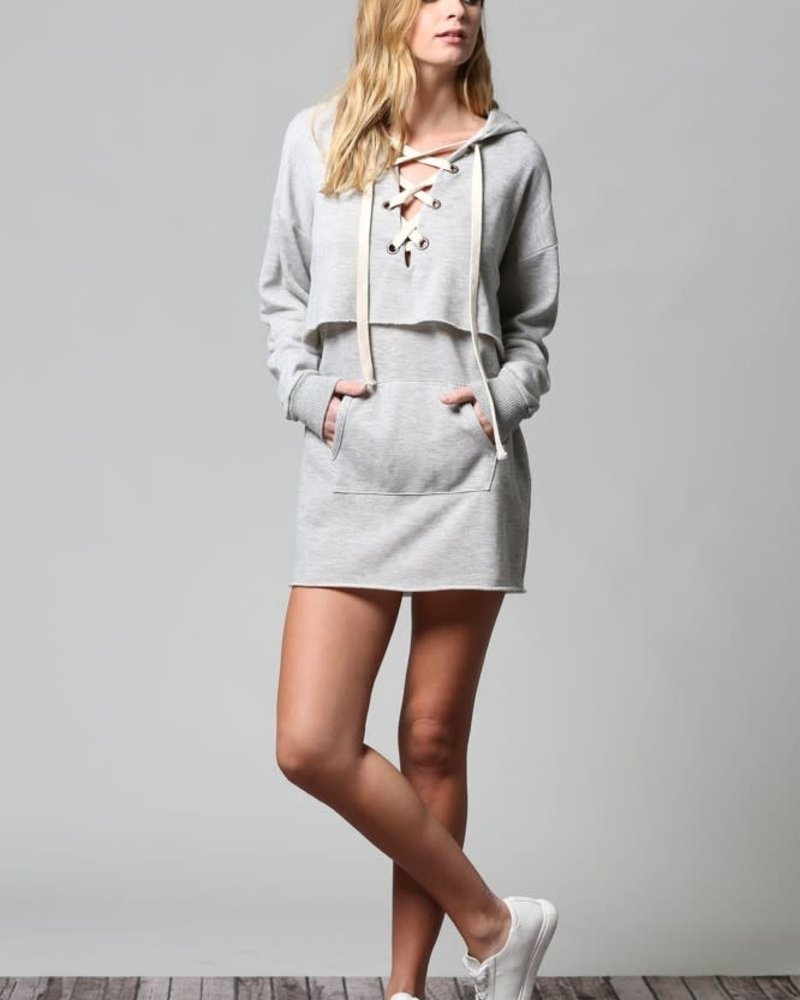 Fate by LFD Fate 'Laced Up' Tunic Dress