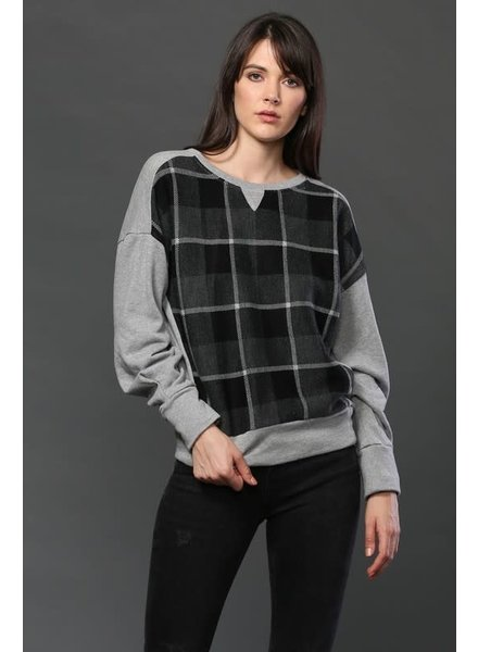 Fate by LFD 'Pat My Plaid' Pullover