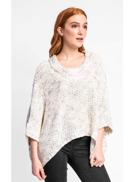 Pink Martini Collection Beige 'West End Girl' Sweater