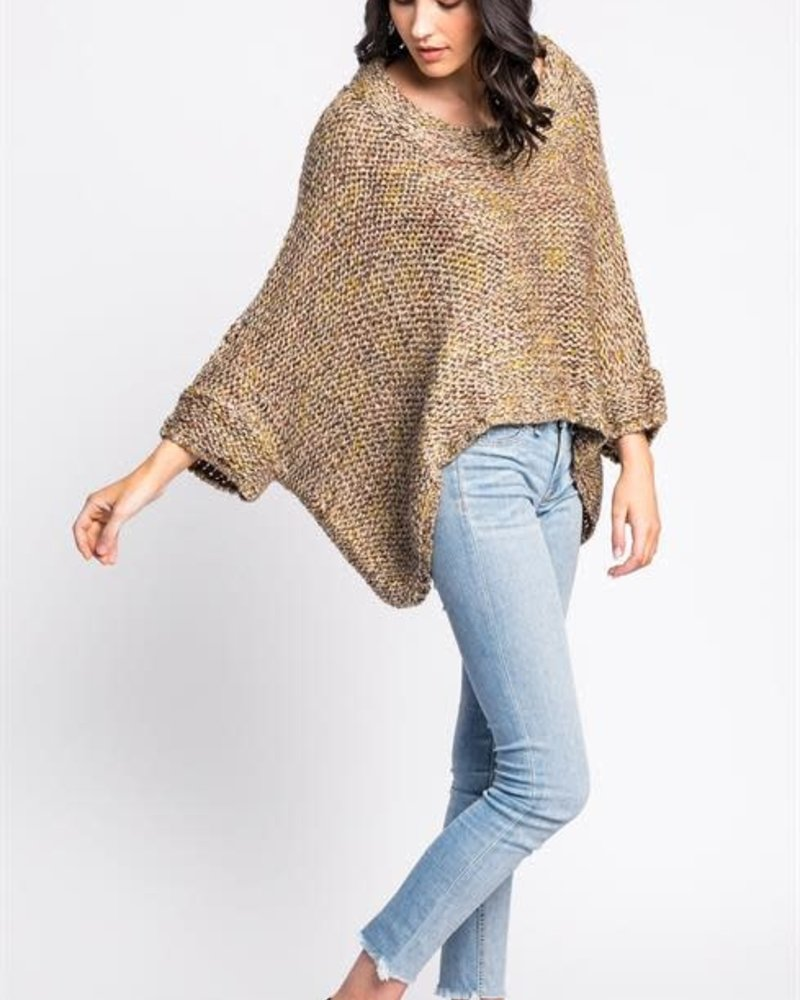 Pink Martini Collection Pink Martini Mustard 'West End Girl' Sweater