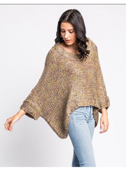 Pink Martini Collection Mustard 'West End Girl' Sweater