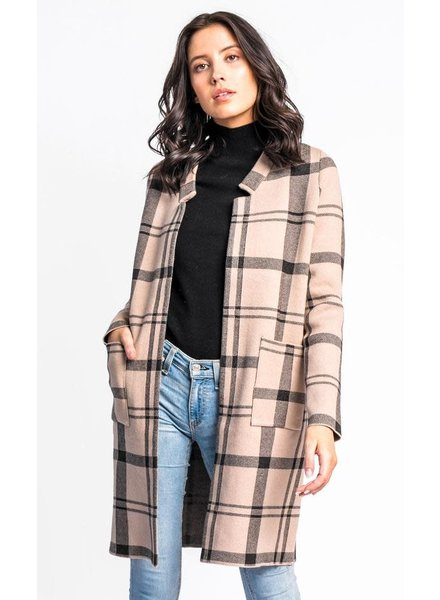 Pink Martini Collection 'Check Her Out' Sweater Jacket