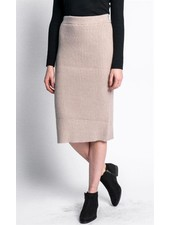 Pink Martini Collection Beige 'Angela' Skirt