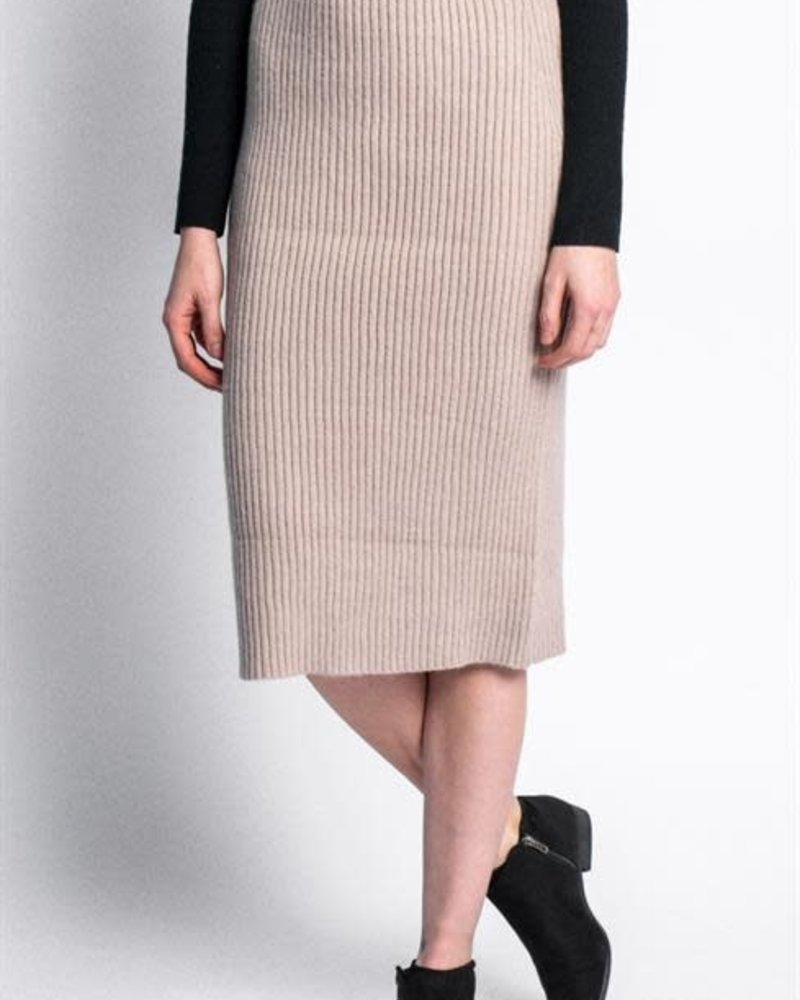 Pink Martini Collection Pink Martini Beige 'Angela' Skirt