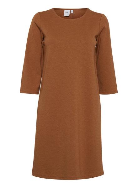 ICHI 'Kate' Button Back Shift Dress