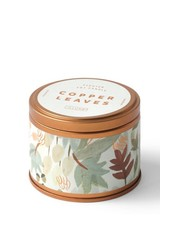 Illume Candles Autumnal Equinox Tin in Copper Leaves