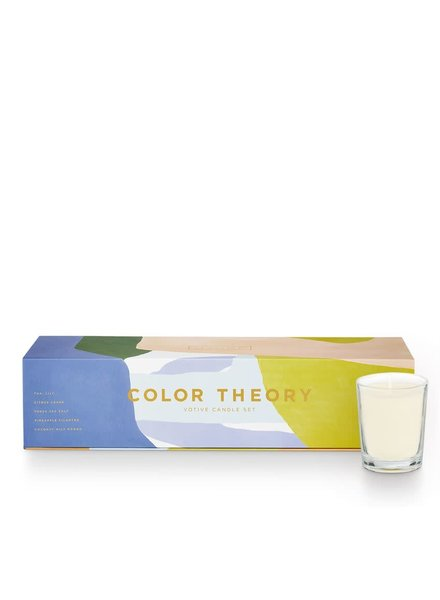 Illume Candles Brights Color Theory Votive Gift Set