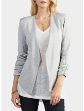 Tart Collections Heather Grey 3/4 Sleeve 'Olga' Blazer