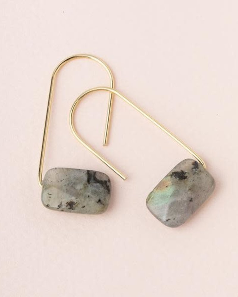 Scout Curated Wears Scout Labradorite Floating Stone Earrings