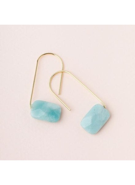 Scout Curated Wears Amazonite Floating Stone Earrings