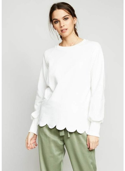 The Good Jane 'Hailey' Scallop Top