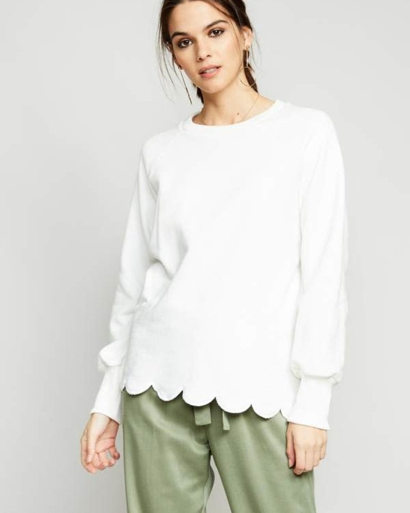 The Good Jane The Good Jane 'Hailey' Scallop Top