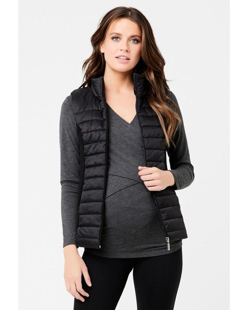 Ripe Ripe Maternity Puffer Vest (Small)