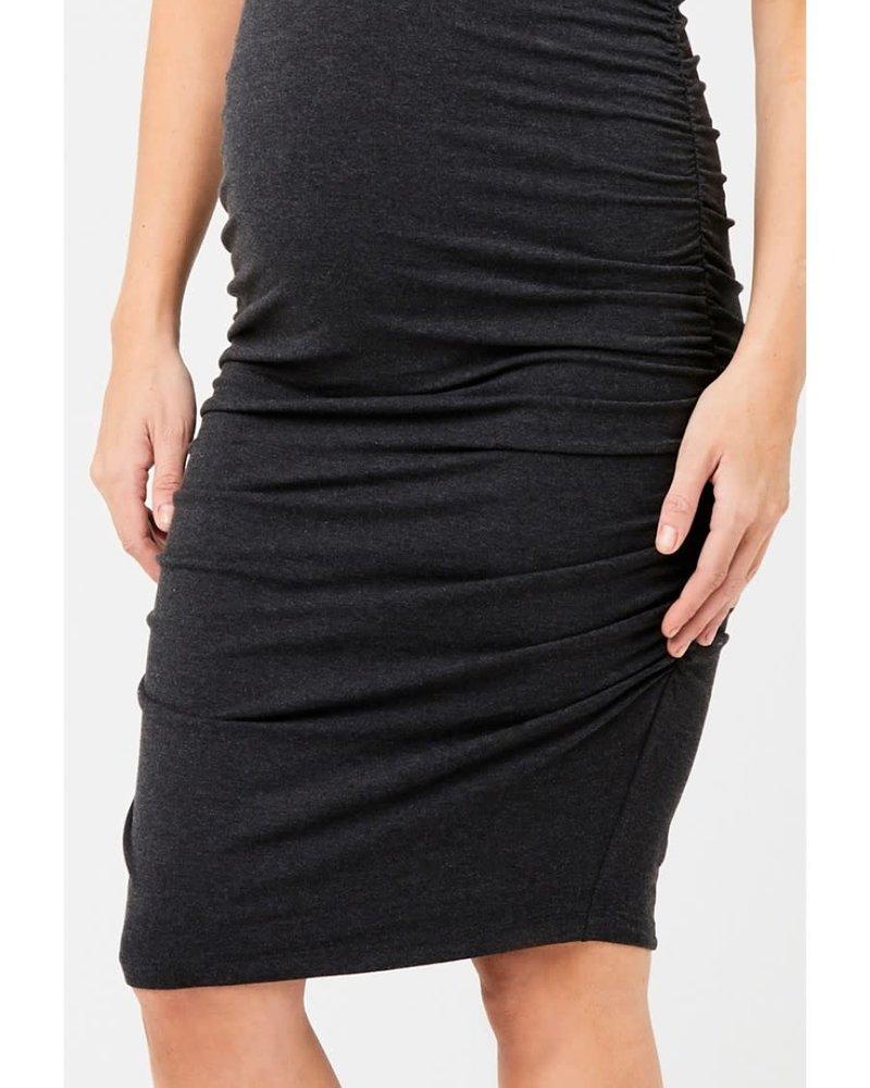 Ripe Ripe Maternity Charcoal 'Marle' Cocoon Dress