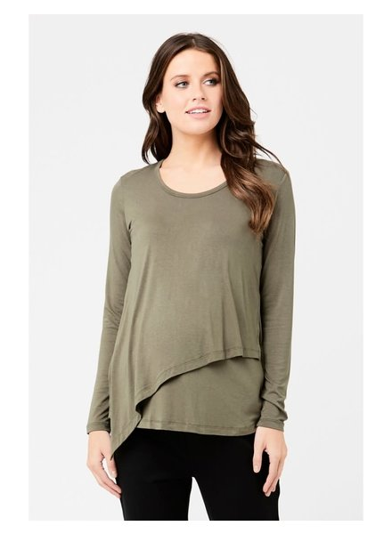 Ripe 'Lara' Long Sleeve Nursing Tee