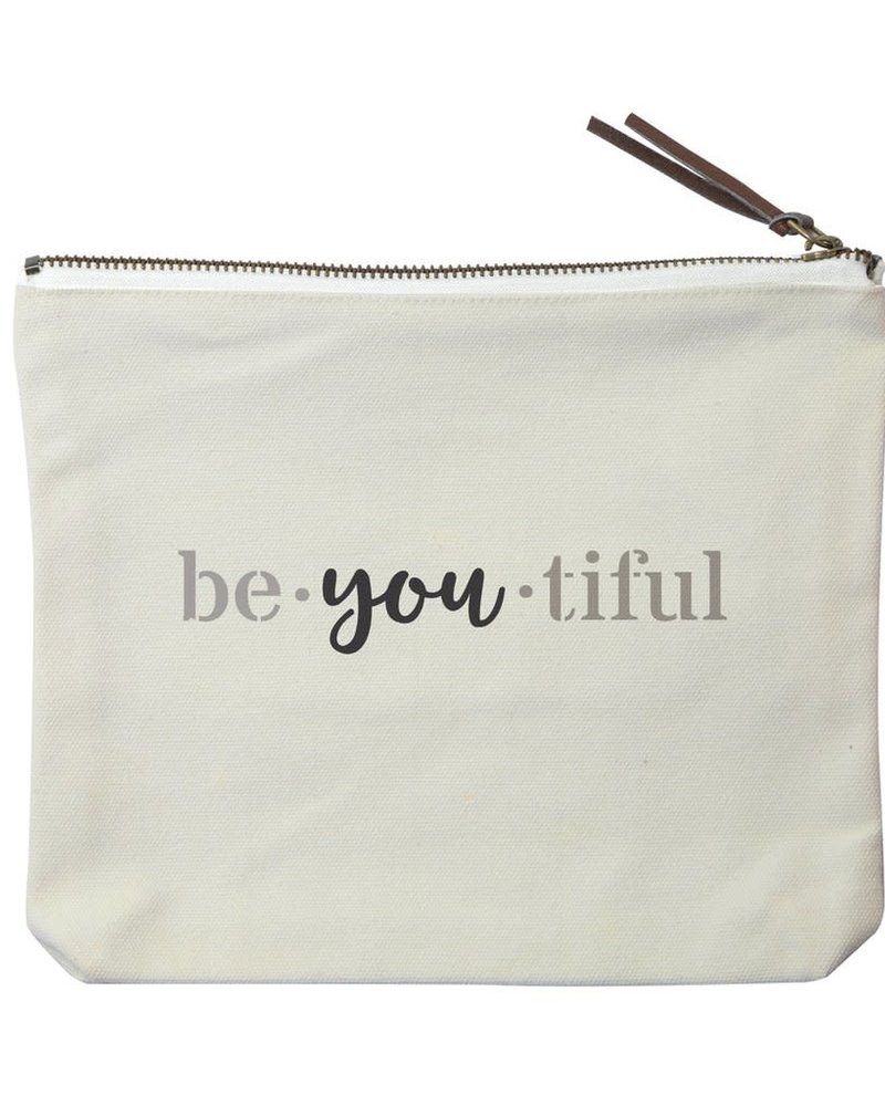 Marshes, Fields & Hills by Rustic Marlin Marshes Fields & Hills 'Be-YOU-tiful' Pouch