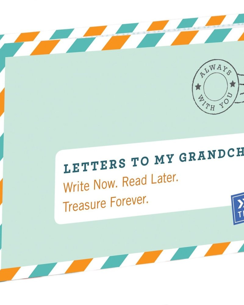 Chronicle Books Letters to My Grandchild Time Capsule Journal