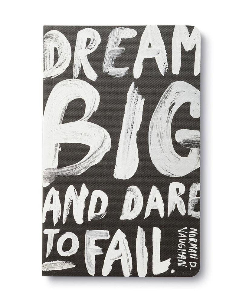 Compendium Compendium 'Dream Big and Dare To Fail' Journal