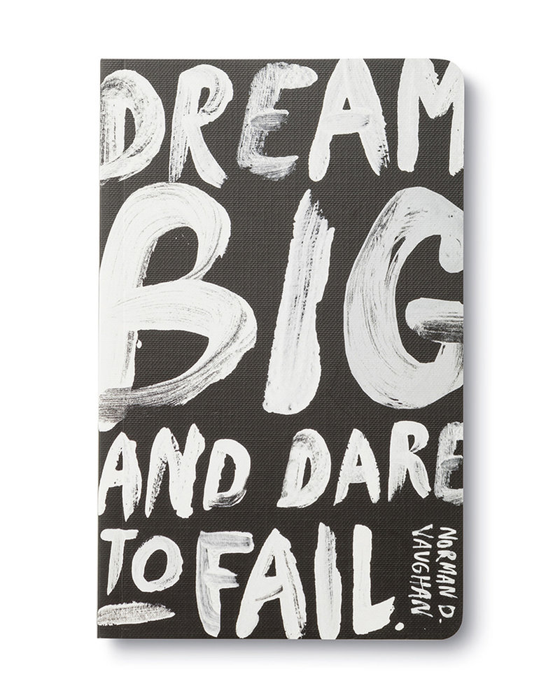 Compendium Compendium 'Dream Big and Dare To Fail' Write Now Journal