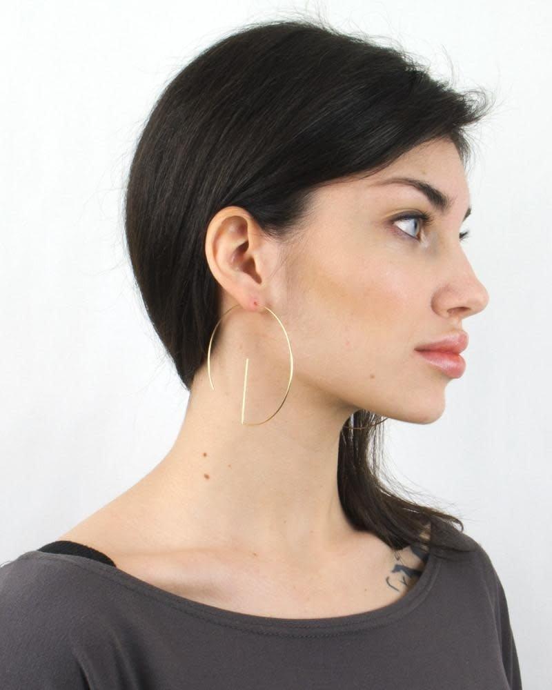 Baleen Baleen G-Hoop Earrings
