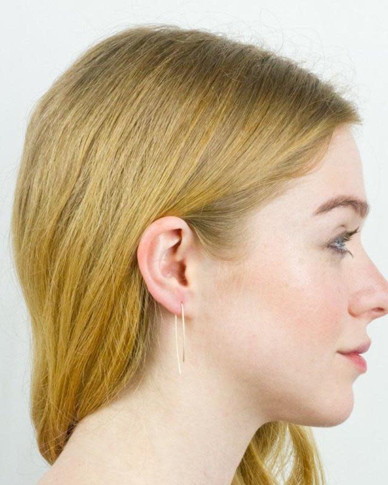Baleen Baleen 'Uneven U' Earrings