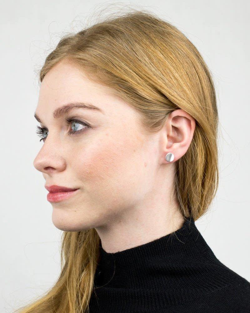 Baleen Baleen Contour Stud Earrings