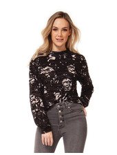 Dex 'Floral Explosion' Sweater Top