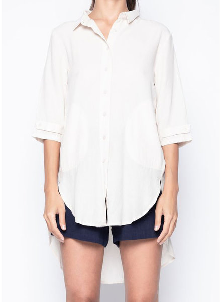 Baloot 'What A Pocket' Button Up Tunic **FINAL SALE**