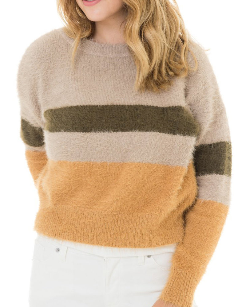Woven Heart Woven Heart 'All The Fuzzy Things' Sweater