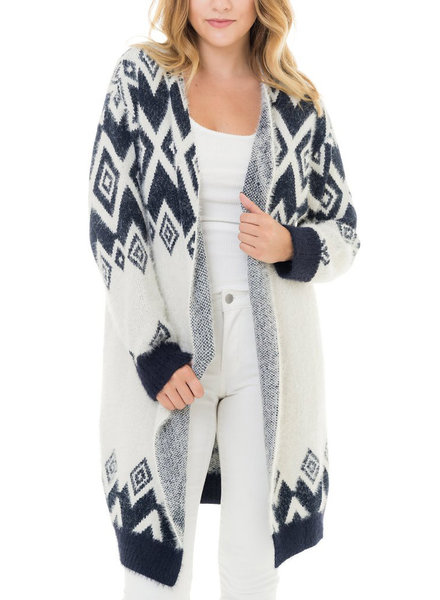 Woven Heart 'Diamonds Are Forever' Cardigan