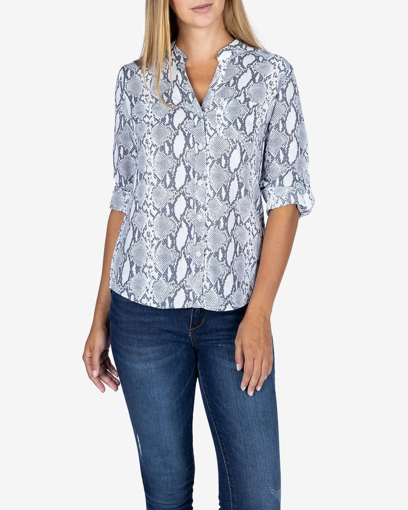 Kut from the Kloth Kut from the Kloth 'Harper' Snake Print Blouse