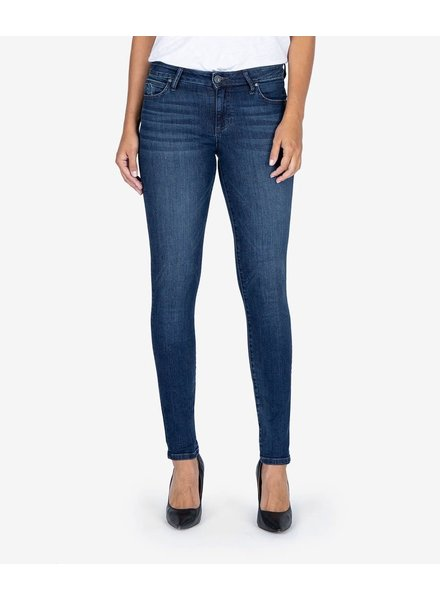 Kut from the Kloth 'Diana Kurvy' Relaxed Fit Skinny Jeans in Medal