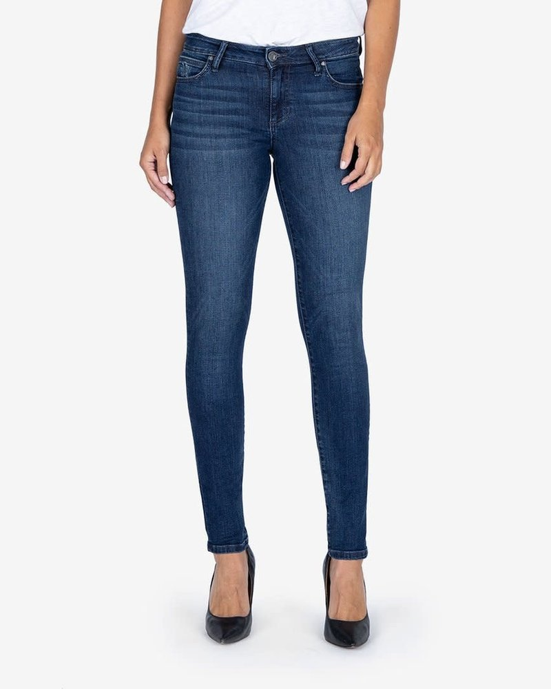 Kut from the Kloth Kut from the Kloth 'Diana Kurvy' Relaxed Fit Skinny Jeans in Medal
